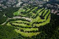 Northlands GC: Aerial view