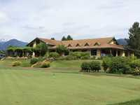 Big Sky: Clubhouse & putting green