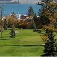 A view from Williams Lake Golf Club