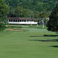 A view of the clubhouse at Belvedere Golf Club