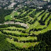 Aerial view of Northlands Golf Course