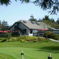 A view of the clubhouse at Prospect Lake Golf Course