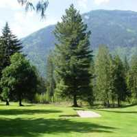 View of a green at Kaslo Golf Club