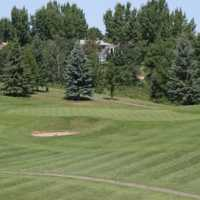 A view from the 16th fairway at Lacombe Golf and Country Club