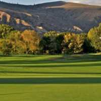 A view of a hole at Kamloops Golf and Country Club