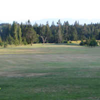 A view from a tee at Metchosin Golf and Country Club