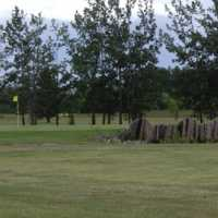A view of green #18 at Pipestone Golf Club