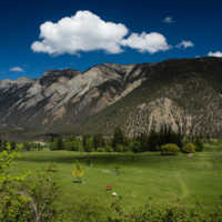 A view from Lillooet Golf Course