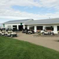 A view of the clubhouse at Trochu Golf and Country Club