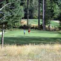 A view from Quadra Island Golf Club