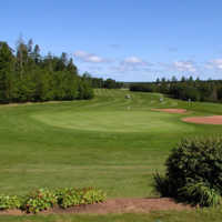 Green Gables GC: View from the 18th green