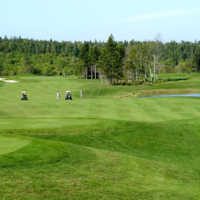 Andersons Creek GC: View from the first green