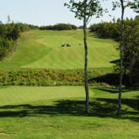 Andersons Creek GC: View from the third green
