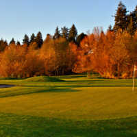 A fall view from Birdies & Buckets Family Golf Centre