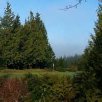 A view of the 9th green at Long Beach Golf Club