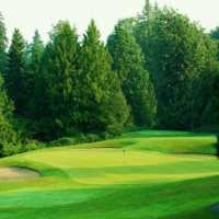 A view of the 2nd green at Redwoods Golf Course