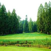 A view from tee #6 at Redwoods Golf Course