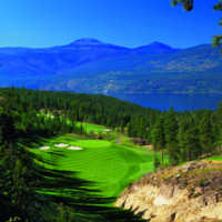Ridge Course at Predator Ridge Golf Resort: View from the signature hole