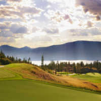 Ridge Course at Predator Ridge Golf Resort: View from the 5th hole