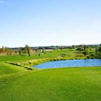 A view from a tee at Slate Course from The Quarry Golf Club