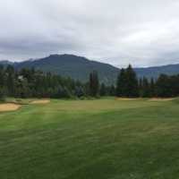 View from the par-5 #3 at Whistler Golf Club