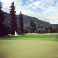 View from the #9 at Whistler Golf Club