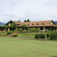 Big Sky: Clubhouse & practice putting green
