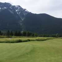 View from #12 at Big Sky