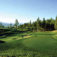A view of hole #6 at Bear from Okanagan Golf Club