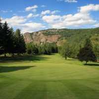 Castlegar GC: 18th green