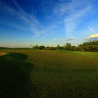 View of the 5th hole at Edmonton Garrison Memorial Golf & Curling Club