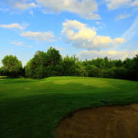 View of the 10th hole at Edmonton Garrison Memorial Golf & Curling Club