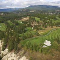 Bootleg Gap Golf - Aerial view