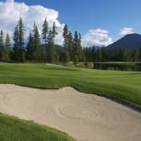Bootleg Gap Golf - 18th green