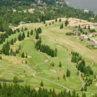 Aerial view from Shuswap Lake Estates Golf Club