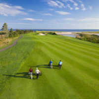 View from the 7th hole at The Links at Crowbush Cove