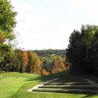 A fall day view from Wooden Sticks Golf Club