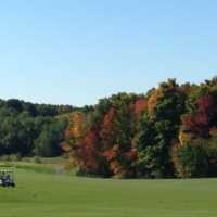A view of a fairway at Wooden Sticks Golf Club