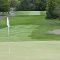 A view of a hole at Arbutus Ridge Golf Club