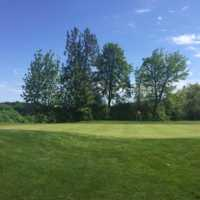 A view of a green at Cottonwood Golf Course