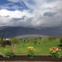 A view from Osoyoos Golf Club