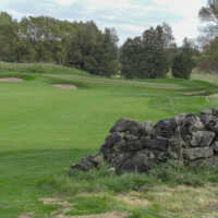 A view of the 9th hole at Heathlands from Osprey Valley Golf Club