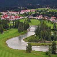 A view from Fairmont Hot Springs Resort - Riverside