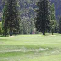 A view of green #5 at Summerland Golf Club