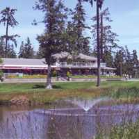A view of the clubhouse at Arrowsmith Golf & Country Club