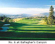 No. 6 at Gallagher's Canyon